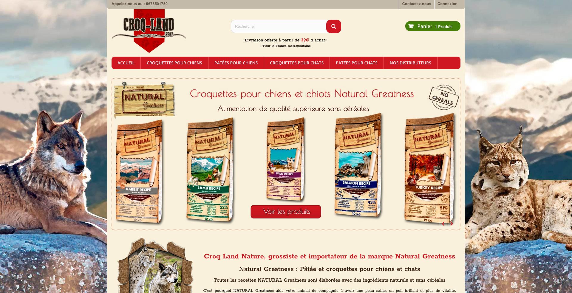 croq-land-nature un site ecommerce sous prestashop